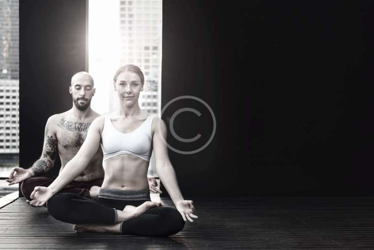 Psychological aspect of practicing yoga